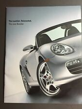 2000 Porsche Boxster & Boxster S Large Showroom Advertising Sales Brochure RARE!