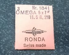 NOS Omega Cal. R11.5 210 Balance Staff Ronda Part 1841 New Old Stock