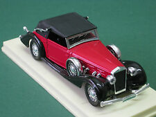 Delage D8 120 rot 1939 Solido 1:43 OVP Oldtimer Modellauto