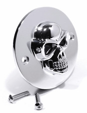 Skull Allumage Couvercle Chrome pour Harley sportster 70-02 pointcover tete de mort