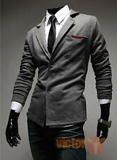 Mens Blazer Suit Jacket Adults Fashion Designer Smart Slim-Fit Blazers Coat Tops