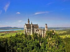 LANDSCAPE GERMANY NEUSCHWANSTEIN CASTLE COOL LARGE POSTER ART PRINT BB3072A