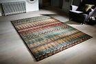 Art Deco Florenza Multi Coloured Abstract Modern Easycare Rug M-XL Sizes 30%OFF