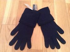 BNWT 100% Auth by Roberto Cavalli, Mens Navy Gloves With Logo. RRP £99