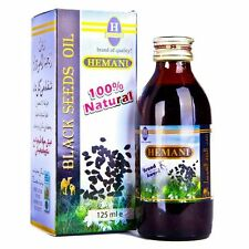 Hemani Black Seed Oil | 125ml | Natural/Herbal/Nigella/Cumin/Sativa/Kalonji