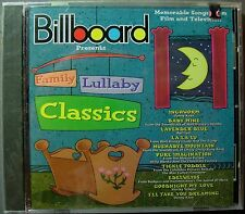 Family Lullaby Classics: Film & TV Songs Collection (CD, 1997,RHINO) NEW