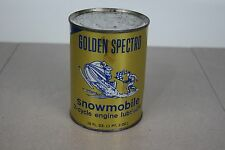 Golden Spectro Snowmobile 2-cycle engine,18 oz. Full Metal Can Man Cave