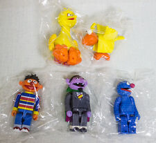 Set of 5 Sesame Street Kubrick Series 1 Medicom Toy JAPAN FIGURE