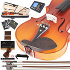 Cecilio Ebony Fitted Left-Handed Violin 4/4 3/4 1/2 1/4 CVN-320L +Tuner+Book/DVD