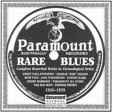 Rare Paramount Blues (1926-1929) by Various Artists (CD, Sep-2000, 2 Discs,...
