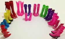 Mix Pairs High Heels Boots Shoes For Barbie Doll Designs Vary - UK SELLER