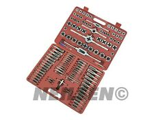 115pc Professional Jumbo Engineers Tap and Die Metric AF Garage Tool Set