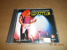 LED ZEPPELIN communication breakdown LIVE IN LONDON 1971 RARE ORIGINAL!!