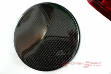 REAL 3D GLOSS CARBON FIBER FUEL DOOR COVER 14-16 MAZDA3 BM HATCH MAZDASPEED JDM