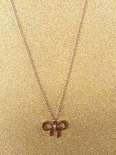 "CC20010 - Eye catching ""gold"" pendant with bow stainless steel pendent"