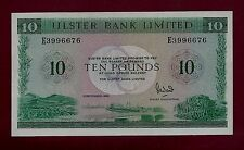 Ireland Northern Ulster Bank Limited 10 Pounds 1989 P-327 XF++ RARE
