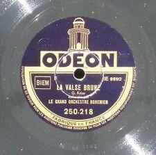 Le  Grand orchestre bohémien  La Valse brune & Les millions d'Harlequin  NM