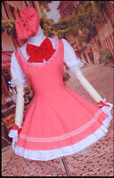 New Anime Cardcaptor card captor Sakura Kinomoto Sakura cosplay costume dress