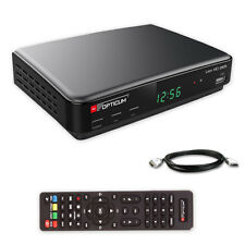 DVB-T2 HD Receiver DVB-T 2 Opticum Lion DVB-T HEVC H.265 USB HDTV LAN + HDMI