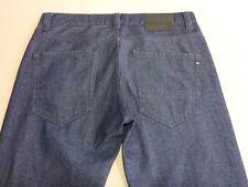 076 MENS EX-COND BILLABONG STR8 FIFTY STEEL BLUE GRAIN JEANS 32 REG $130.