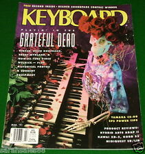 1991 GRATEFUL DEAD, Ensoniq EPS Tips, Kawai XD-5, Yamaha CS-80 KEYBOARD Magazine