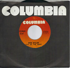 BOB DYLAN  Lily Of The West / A Fool Such As I  rare 45 from 1973