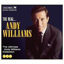 ANDY WILLIAMS * 60 Greatest Hits * Import 3-CD BOX SET *All Original Songs * NEW