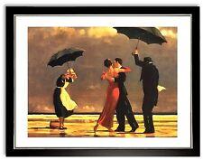 Bild Kunstdruck Jack Vettriano The singing Butler mit Rahmen -47 ++SALE++
