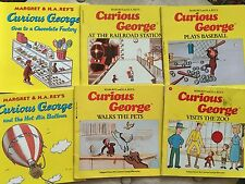 Guided Reading 6 Different books 1st 2nd  CURIOUS GEORGE Class Library