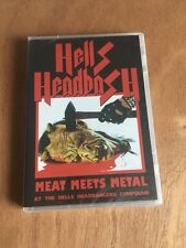 Hells Headbash - Meat Meets Metal DVD New Sealed Nunslaughter Midnight Metal