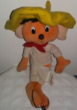 SPEEDY GONZALES VINTAGE PELUCHE - 25Cm. - Plush Cosplay Pokemon GiG Ufo Catcher