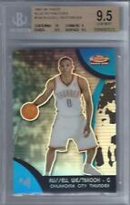 2007-08 Russell Westbrook Finest Blue Refractor RC- BGS 9.5 w/10 sub... #94/199