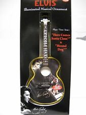 ELVIS Light Up Musical Ornament*Plays 2 Songs*Collectible*Illuminated~FREE SHIP~