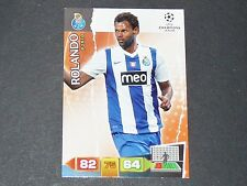 ROLANDO FC PORTO UEFA PANINI CARD FOOTBALL CHAMPIONS LEAGUE 2011 2012