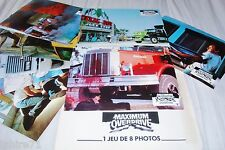 MAXIMUM OVERDRIVE ! stephen king  jeu photos cinema lobby cards trucks