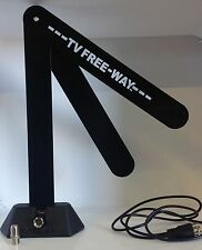 NEW TV Free-Way HD Digital Antenna As Seen On Tv Telebrands