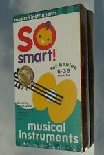 SO SMART - MUSICAL INSTRUMENTS (*NEW VHS 2001 Baby School) HOMESCHOOL EDUCATION