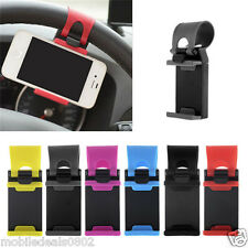 Car Mobile Phone Holder Mount Stand for steering wheel For All Phones Universal