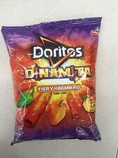 Doritos Dinamita Fiery Habanero Flavor Free Shipping Lot Of 5 Sabritos 3.75oz