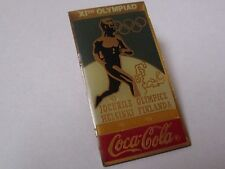 Pin's Coca cola / Jeux olympiques de Helsinki 1952 (XIe olympiad)
