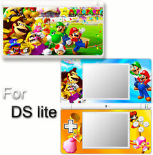 Mario Party Luigi Peach SKIN STICKER COVER for DS lite