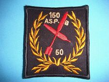 VIETNAM WAR BL PATCH, US 150th ASSAULT SUPPORT PATROL BOAT RIVER SQ 50