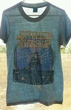 RaRe *1981 JEFFERSON STARSHIP* vtg shirt (M) 70s 80s Psychedelic Rock Paper Thin