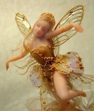 """LEAH-LACEY TINY TEACUP FAIRY 3"""" PRESS MOLD for polymer clay by Patricia Rose"""