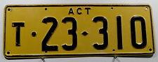 Nummernschild Australien ACT Trailer. 4384.