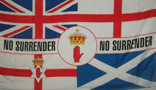 union jack ulster england scotland no surrender flag 5x3 loyalist ulster scots