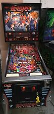 Rollergames Williams Diamond plate Pinball Machine Coin Op Arcade Rare