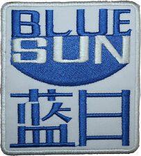 Firefly Serenity Blue Sun Badge Embroidered Patch 10cm Sew-on or Iron-on
