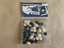 Santoro's Simply Gorjuss Mini Buttons 60 Pieces Craft Cards Art