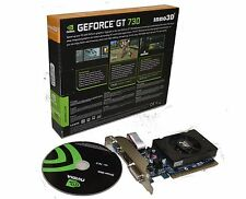 NVIDIA Geforce GT 730 2GB Low Profile PCI Express Video Card HMDI DVI VGA